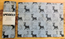 PLACEMAT 40X30CM REINDEER BLACK/WHITE