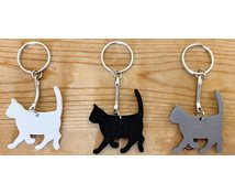 KEYRING CAT 42MM