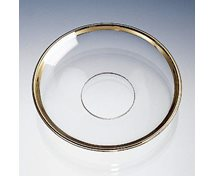 BOBECHE 65MM CLEAR GOLD
