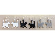 EARRING PAR CATS 20MM