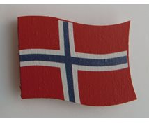 NORWEGIAN FLAG W.MAGNET