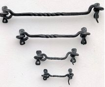 HAND WROUGHT IRON HASP WITH LOOP