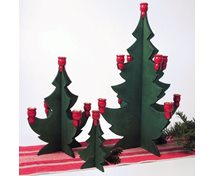 CHRISTMAS TREE FOR SMALL CANDLES