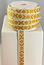 RIBBON 15MM LIONYELLOWWHITE 25M/ROLL