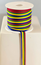 RIBBON 10MM REDGREENYELLOWBLUE