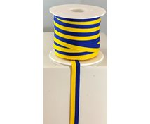 RIBBON 10MM BLUE YELLOW