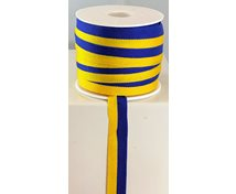 RIBBON 15MM BLUE/YELLOW