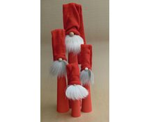 LONG SANTA RED WITH RED HAT